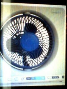 """HONEYWELL QUEITSET 13 """" OSCILLATING  4 speed TABLE FAN -WIRELESS REMOTE - WHITE"""