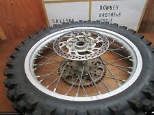 YZ 125 YAMAHA * 2002 YZ 125 2002 REAR WHEEL