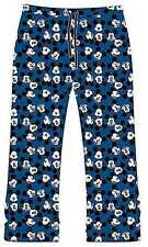 NEW MEN'S MICKEY MOUSE NAVY BLUE LOUNGE PANTS PJ BOTTOMS SIZES: SMALL up to XL