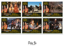 Conan the Destroyer Lobby Card Set of 6 -  1984 - NM