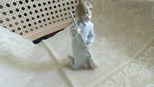 Lladro@ 5726 Sweep Away Your Clouds Retired Angel With Broom