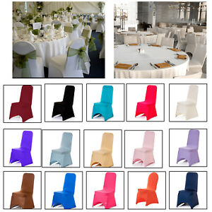 Chair Covers Removable Dining Seat Slip Stretch Covers Wedding Banquet Party