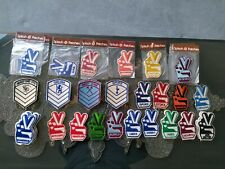 More details for 56 vintage football patches, various clubs believe they are splash. 10 in packet