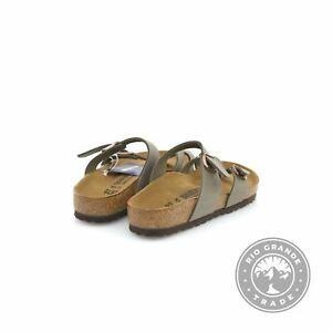 NEW Birkenstock Mayari Women's Sandals with EVA Sole in Stone - 6-6.5 M US