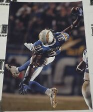 Antonio Cromartie San Diego Chargers Football 20x30 Photo Interception Picture
