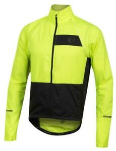 M's NWT Pearl Izumi Elite Escape Convertible Jacket/vest Small Screaming Yellow