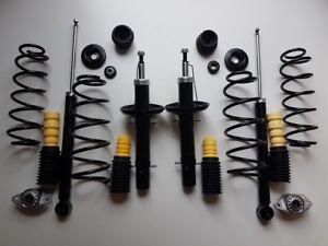 kit de suspension serie amortisseurs ressorts coupelles Audi A3 8L avant arriere