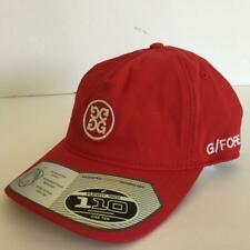 NWT G/FORE Circle G  Cap Athletic Hat Red