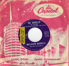 NELSON RIDDLE - DE GUELLO - THE GREEN LEAVES OF SUMMER - DISCO JUKE BOX