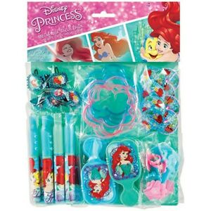Pack of 48 Ariel The Little Mermaid Mega Treat Loot Bags Party Favours Pinata