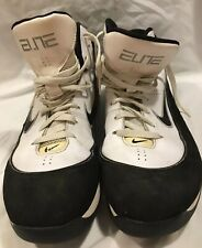 new york 0e9aa 9eb13 Nike Hyperdunk 2011 Basketball Airmax Elite Shoes size 13 Black White