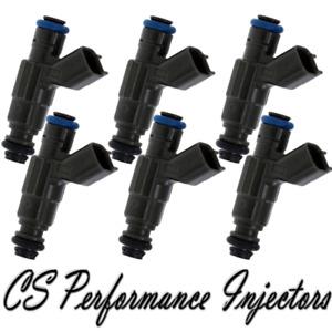 OEM Bosch Fuel Injectors Set (6) 0280155863 for 2000-2008 Jaguar Lincoln 3.0L V6