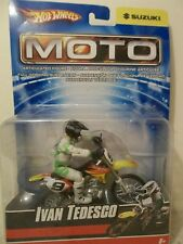 NEW 2007 HOT WHEELS MOTO #9 IVAN TEDESCO MAKITA SUZUKI RM-Z450 MOTOCROSSER