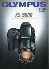 Olympus Prospekt für Olympus IS-3000
