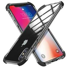 For iPhone Ten Xs Max Case High Clear Shield Heavy Duty Bumper Protective Cover