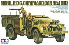 TAMIYA 1:35 KIT MEZZO MILITARE BRITISH L.R.D.G. COMMAND CAR 30cwt TRUCK  35092