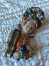 ANTIQUE CERAMIC FIGURE-LADY IN HUNGARIAN FOLKLORE