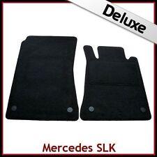 Mercedes SLK R171 2004-2011 A Medida De Lujo 1300g Alfombra Tapetes Coche Negro