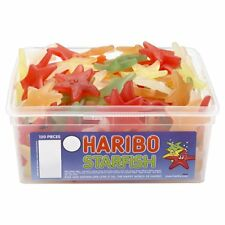 Haribo Starfish Sweets - 120 in a Tub - Party bag filler wedding favour