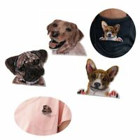 Bags Iron On Accessories Dog Patch Applique Clothes Decoration Badge Stickers