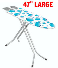 47 Inches Extra Large Steel Ironing Board With Iron Rest,Made In Turkey