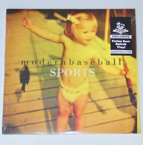 MODERN BASEBALL Sports (SEALED) PATINA RUST VINYL LP /300 joyce manor.hotelier