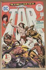 "Tor #1 (May-Jun 1975, DC) 9.0 VF/NM...Joe Kubert ""new origin"" story/cover & art"