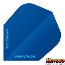 Harrows Marathon Anti Glare Flights - 100 micron - Blue