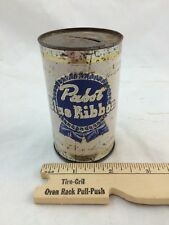 Vintage PABST BLUE RIBBON Beer COIN Bank MINIATURE CAN