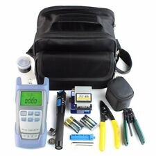 Fiber Optic FTTH Tool Kit FC-6S Cutter Cleaver Optical Power Meter Visual Device