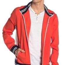$195 Tommy Hilfiger Retro Orange Full Zip Track Jacket...