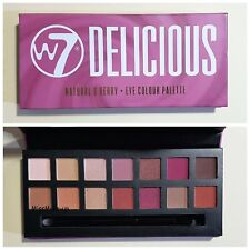 W7 Delicious Natural & Berry Eye Shadow Colour Palette