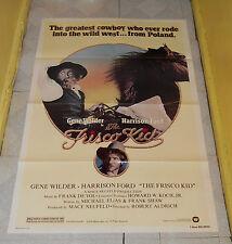original THE FRISCO KID one-sheet poster Gene Wilder Harrison Ford