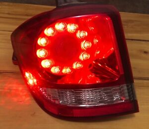 DODGE JOURNEY 11-19 LH DRIVER LED OUTER TAIL LIGHT LAMP TESTED OEM NICE
