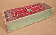 Barbour's Linen Thread Box - Lisburn, Ireland - Flax / Black / Irish / Dozen