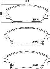Mazda CX3 CX-3 2015-2018 Rear brake caliper guide slider pin kit S7138-1