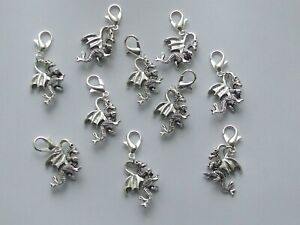 Set 10 Stitch Markers DRAGONS Knitting,Crochet,Charms,Accessories etc