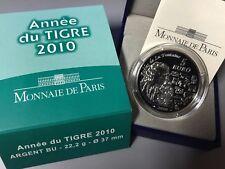 France 2010 TIGRE 5 euro Silver Proof -  € Francia Tiger