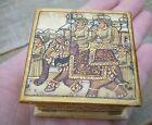 Rajasthani Hand Painted Maharaja Box Camel Bone