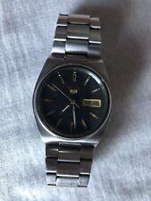 Seiko 5 Reloj Automático 7009-3130 Acero Inoxidable alrededor de 1985