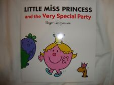 Little Miss Book - Little Miss Princess And The Very Special Party - Brand New