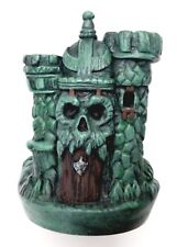 PRE-ORDER MOTUC Custom PAINTED MINI-BUST BASE CASTLE GRAYSKULL Masters He-Man