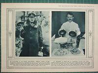 1915 WWI WW1 Imprimé ~ Moderne Hand-Grenade D'ALLEMAGNE Motif ~ War-Bread En