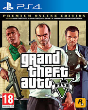 Grand Theft Auto V Premium Online Edition PS4 Playstation 4 IT IMPORT