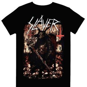 Slayer - Hellthrone European Tour 2018 Official Licensed T-Shirt