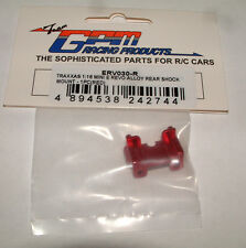 TRAXXAS MINI E-REVO SUMMIT GPM REAR SHOCK MOUNT RED ALUMINUM ERV030
