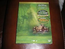 DVD DISNEY LIVRE DE LA JUNGLE 1 + 2 + BONUS - COFFRET PRESTIGE COLLECTOR 3 DVD