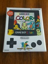 GameBoy Color Pokemon Center Limited Edition Handheld System Pearl White - New!