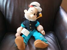 """Vintage Popeye Poopdeck Pappy 19"""" Plush-Vinyl Doll 1985 King Features Syndicate"""