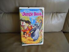 The Jungle Book - VHS #1122 Walt Disney Black Diamond Classics Movies Family